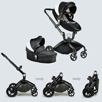 Baby Stroller 2 In 1 Travel System Light Weight Portable Folding Pushchair Cart