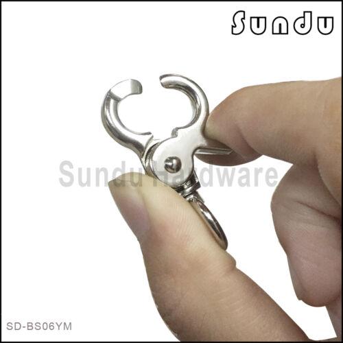 Wholesale  Key Ring Clip Swivel Lobster Swivel Clasps Clip Snap Handbag Findings
