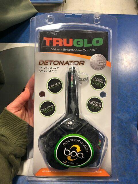 Truglo Detonator Release with Boa Strap Black