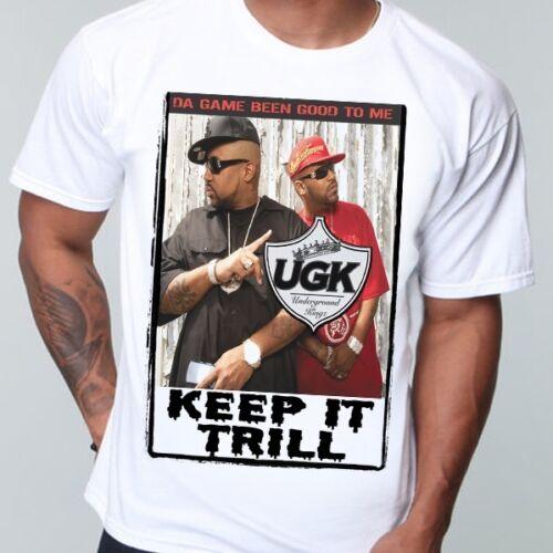 Cali WAKA FLOCKA G crinière piège de musique Hip Hop UGK T Shirt Rap Houston