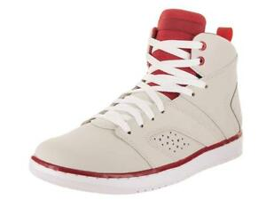 d8aeb0aaae0302 Jordan Flight Legend Light Bone White-Gym Red-White (AA2526 012)