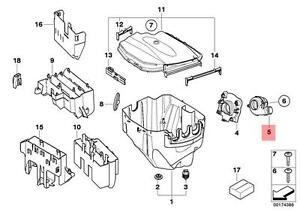 Genuine-BMW-E82-E84-E87N-E88-E90-E90N-E91-E91N-E92-e-Caja-Ventilador-Oem-12907547141