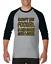 Gildan-Raglan-T-shirt-3-4-sleeve-Don-039-t-Be-Fooled-Just-Look-Like-I-Care-S-M-L-XL thumbnail 2