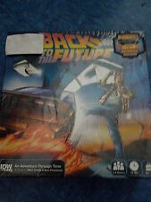 Back To The Future: An Adventure Through Time Board Game New Hot Wheels Delorean