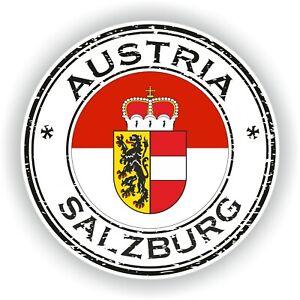 Sticker of Tirol Austria Stamp for Bumper Travel Laptop Tablet
