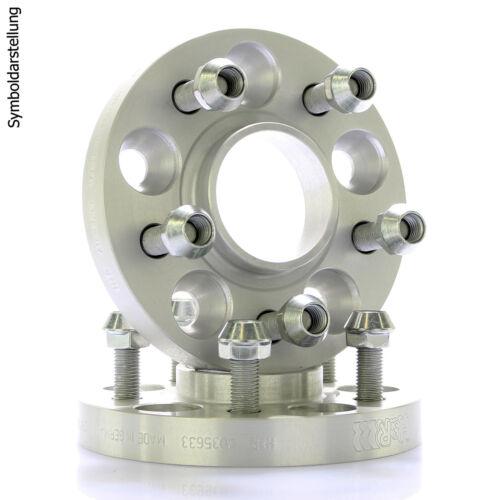 H/&r DRM pista placas ensanchamiento distancia disco ø60 1 5x114,3 30mm//2x15mm