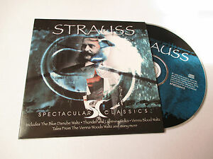 CD-Serie-Spectaculars-Classics-Strauss-pochette-cartonnee