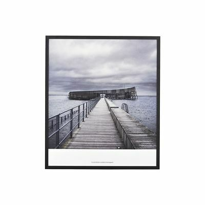 Steg zum Meer  Bild Strand Meer Keilrahmen Leinwand  Poster XXL 150 cm*50 cm 480