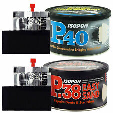Isopon P38 and P40 Filler Kit - 250ml Each for sale online