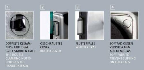 FRASCIO-Glastürbeschlag UV-Schlosskasten Modell CLASSICO