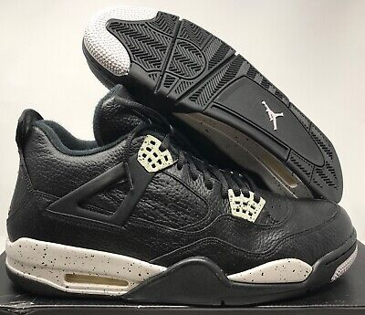 f308630f2edfc NIKE AIR JORDAN 4 RETRO LS BLACK-TECH GREY-BLACK SZ 12 OREO! [314254-003]  888408391254 | eBay