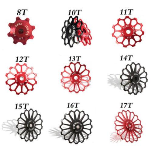 Schaltwerk Ceramic Bearing 8-17T Umlenkrolle Jockey Wheel Bike Guide Roller