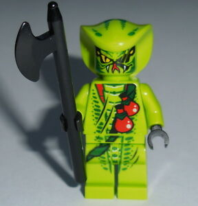 NINJAGO-12-Lego-Lasha-w-Halberd-NEW-9447-9562-GENUINE-LEGO-snake