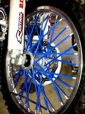 """NEW SPLATTER WRAPS"" MADE IN USA BYKAS SPOKE WRAPS DIRTBIKE SKINS COATS COLORS"