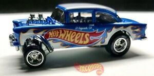 HOT-WHEELS-2020-039-55-CHEVY-BEL-AIR-GASSER-LOOSE-FROM-DISPLAY-CASE
