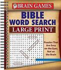Brain Games Bible Word Search Large Print by Publications International, Ltd. (Spiral bound, 2011)
