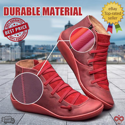 Women Autumn Arch Support Boots (Multi Colors) hot-flat-heel-boots Casual