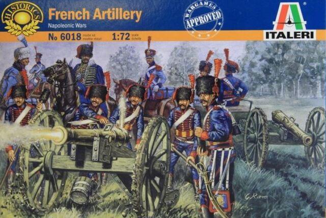 italeri 6018 french artillery napoleonic war 1 72 figure set ebay