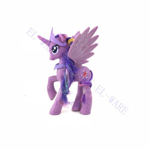 1 PZ 14cm My Little Pony Twilight Sparkle Action Figure modello cake topper Regalo
