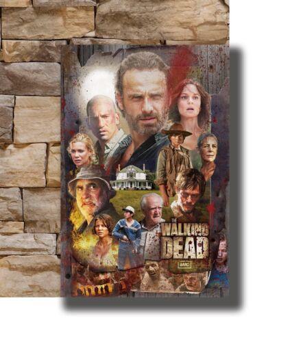 Hot The Walking Dead Season 7 Hot USA TV Series Art Poster 40 12x18 24x36 T-3368