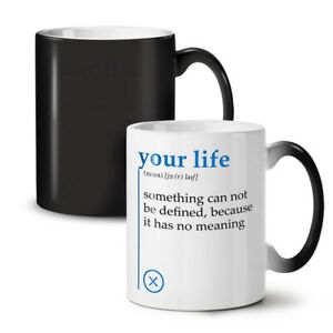 Your Life NEW Colour Changing Tea Coffee Mug 11 oz | Wellcoda