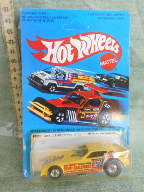 MATTEL HOT WHEELS PEPSI CHALLENGER 2023 SERVICE CENTER 1981 TOY VINTAGE