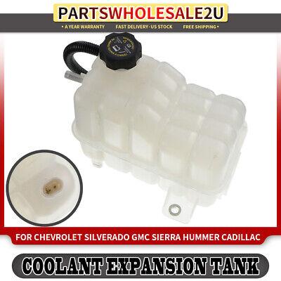 For 2010 GMC Sierra 1500 V8 V6 6.2 4.8 5.3 4.3 Engine Coolant Reservoir