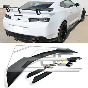 Fits Chevy Camaro Coupe 2016-2017 Rear Decklid Lip Style Spoiler Unpainted
