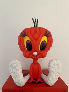 Red Tweety Bird Looney Tunes By Mark Dean Veca & Kidrobot