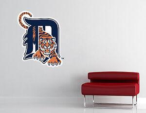 Detroit Tigers MLB Wall Decal Vinyl Sticker Decor Baseball EXTRA LARGE L219