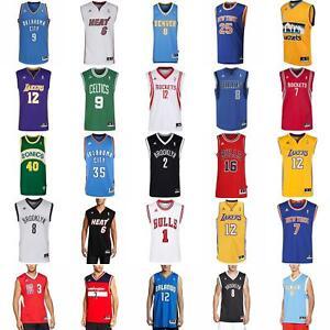 Details zu adidas NBA BASKETBALL JERSEY ROCKETS LAKERS BULLS KNICKS NETS  CELTICS SPURS HEAT