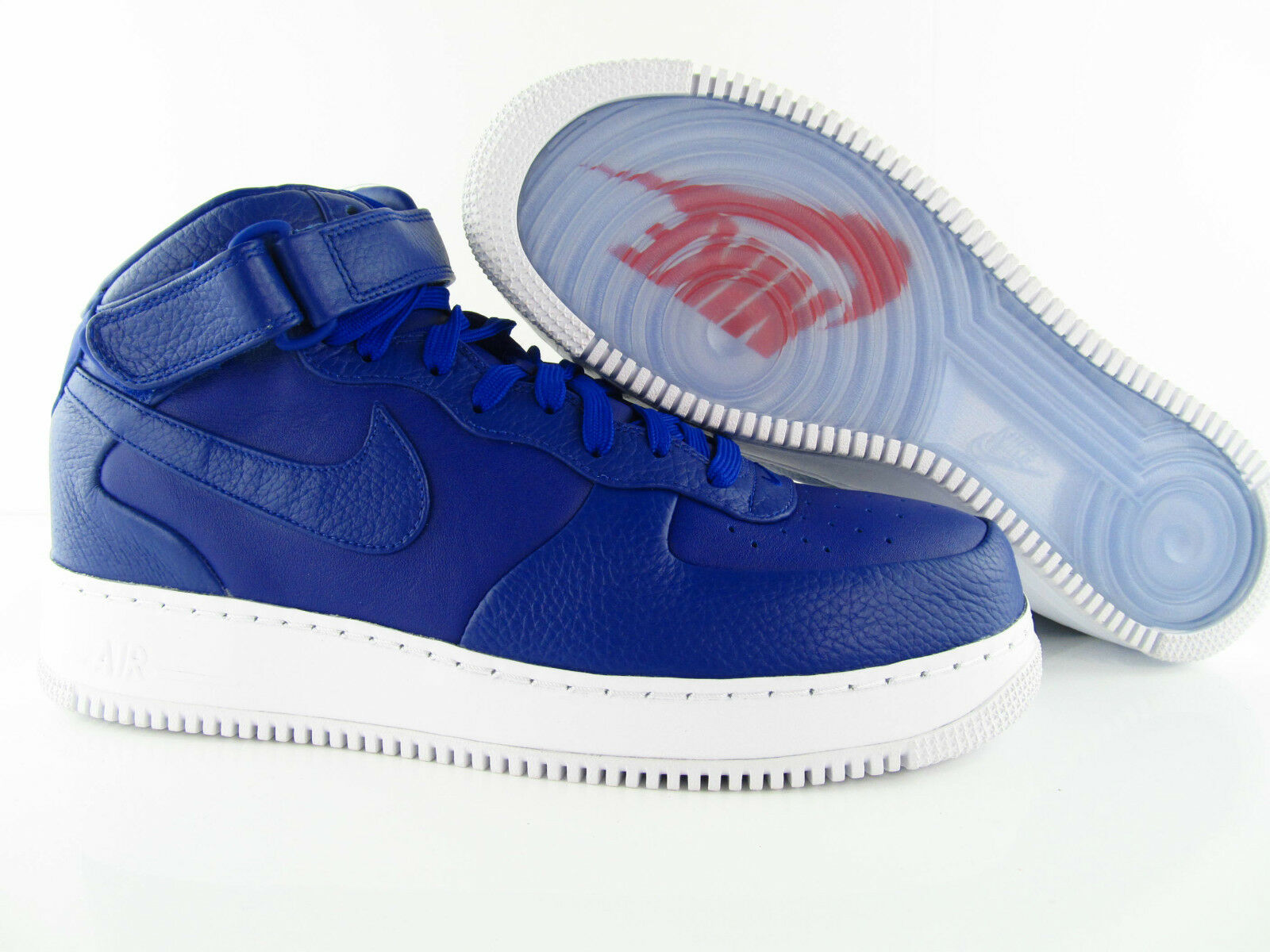 Nike Air Force 1 MID Nikelab Royal Blau Blau Rare  US_11.5 UK_10.5 Eur 45.5