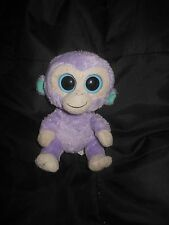 """TY Beanie Babies BOOS Blueberry 6"""" Purple Monkey no hang tags"""