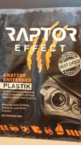 Efface Rayures Phares et optique en plastique RAPTOR PEUGEOT 207 CC