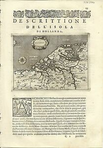 Antique-maps-Hollanda-Porcacchi-1576