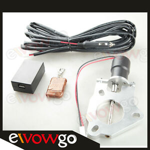 2-5-034-63mm-Electric-Exhaust-Catback-Downpipe-Cutout-Valve-Motor-Remote-Control