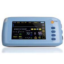 Portable Vital Signs Patient Monitor 5 Parameter Icu Ccu Cardiac Monitor Machine