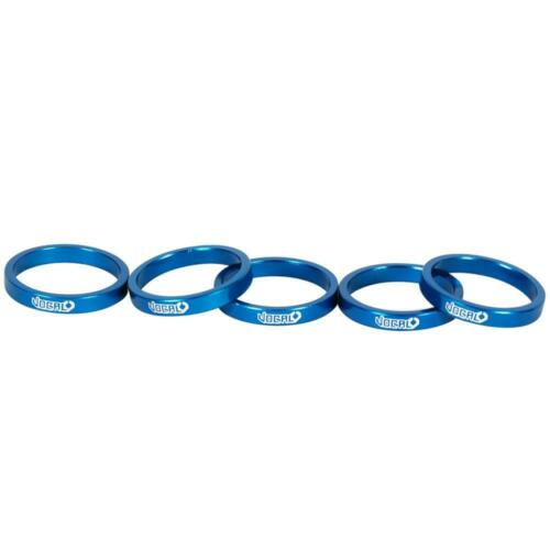 Vocal BMX Alloy Headset Spacer 5mm Blue