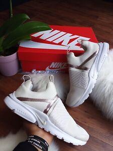 5Y | 6.5 Mujeres Nike Presto Extreme Phantom Beige Metálico ...
