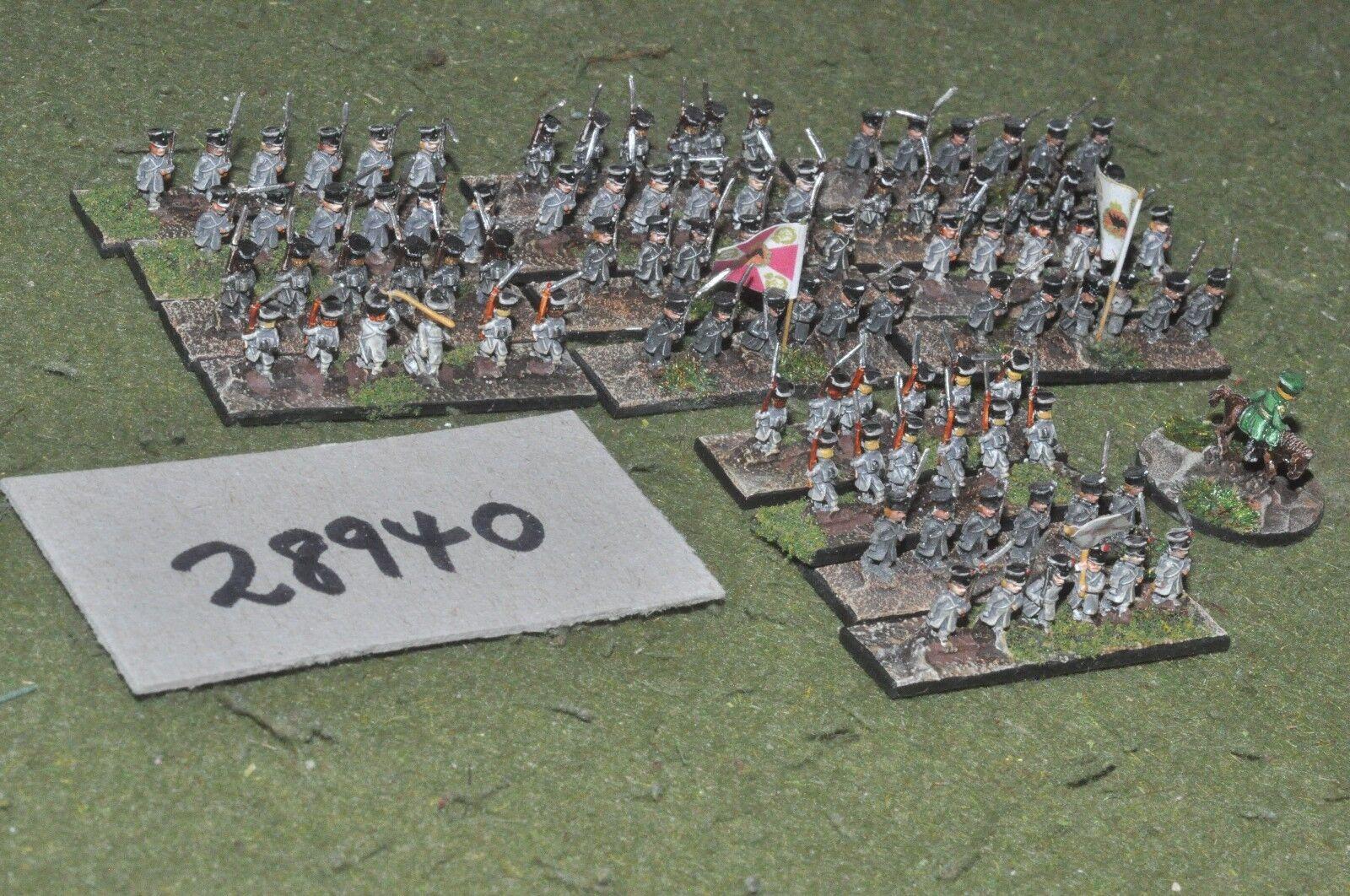 6mm napoleonic   Russian - adler 100 figures - inf (28940)