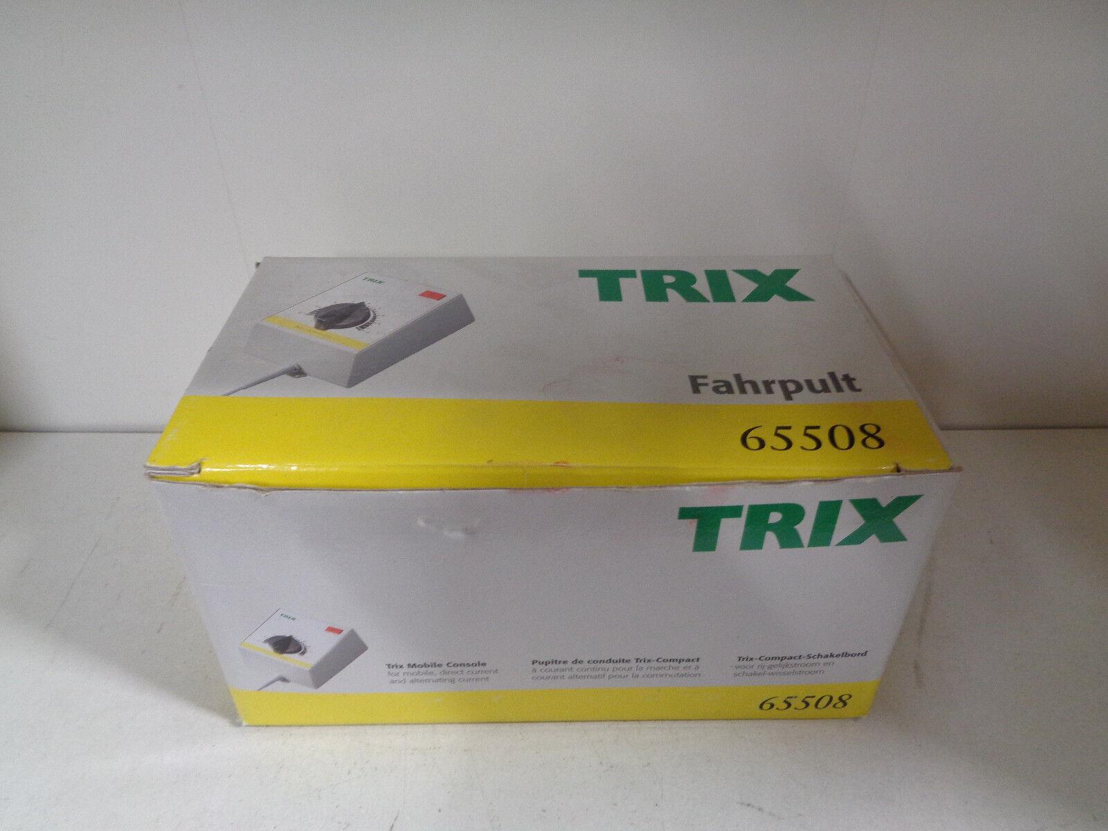 TRIX 65508-TRASFORMATORE A REGOLAZIONE MSF-CONTINUA-ALTERNATA-TRENINI------S11