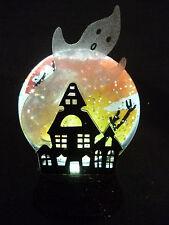 Hallmark Gift Bag Halloween Haunting House Ghost Snow Globe - Black Base NEW