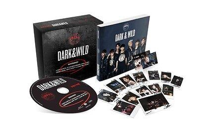 BTS-[DARK & WILD] 1st Album K-POP Sealed CD+Photo Book+Photo Card BANGTAN