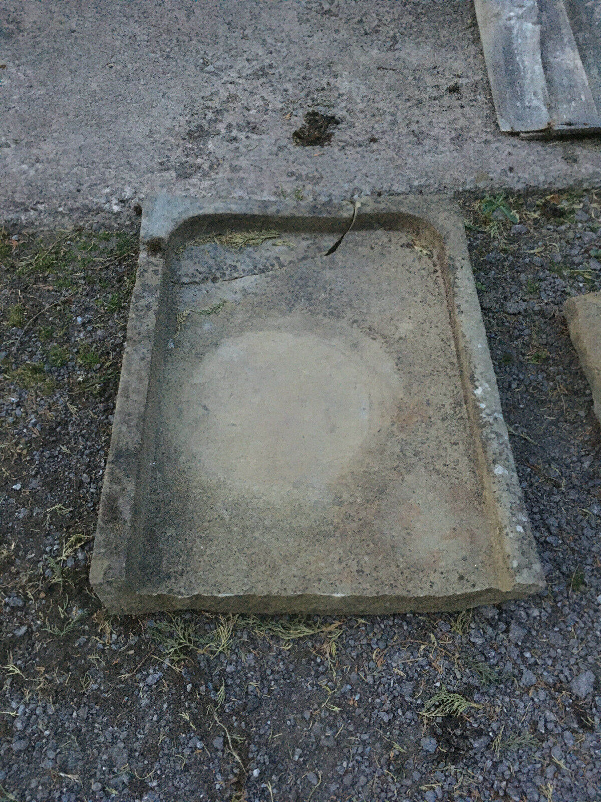 Yorkshire Stone Flag Planter~Door Step~Garden Water Fall Feature Koi Fish Pond