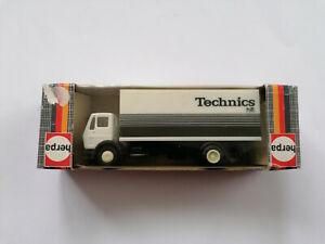 Herpa-806390-camiones-mercedes-benz-maleta-camiones-Technics-HiFi-1-87-h0-incl-caja-original