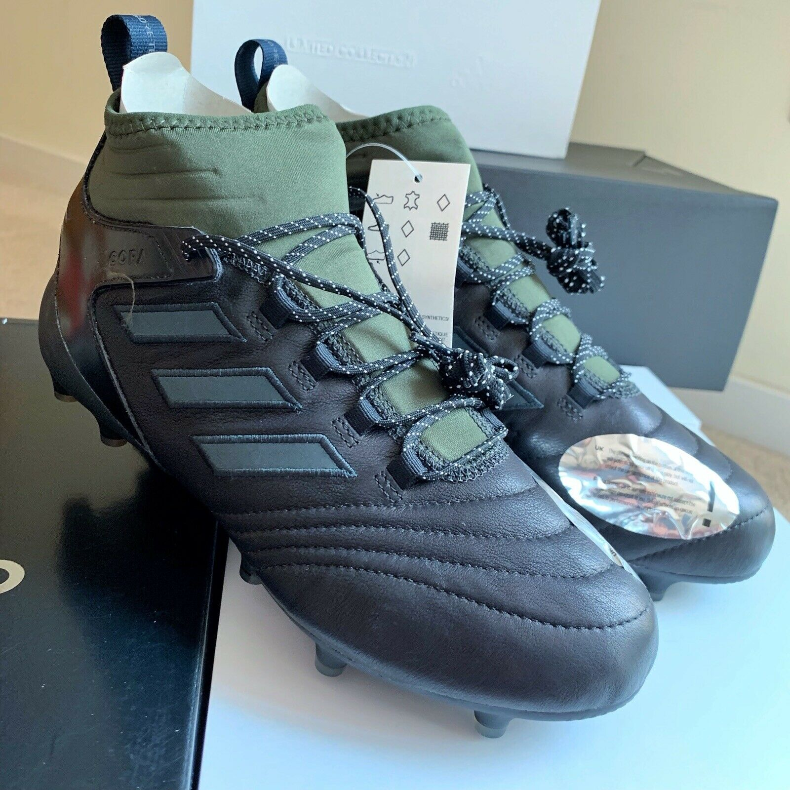 Adidas Copa Mid Firm Ground GTX Cleats BB7431