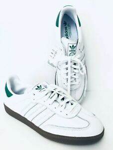 Details about Adidas Originals Samba OG D96783 White Green Gum mens size 13