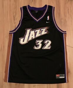 Image is loading Vintage-Nike-Utah-Jazz-Karl-Malone-Swingman-Jersey- b37132bb0