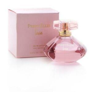 LOVE Perry Ellis mujeres 3.4 onzas Spray de 3.3 Perfume EdP Nuevo en Caja