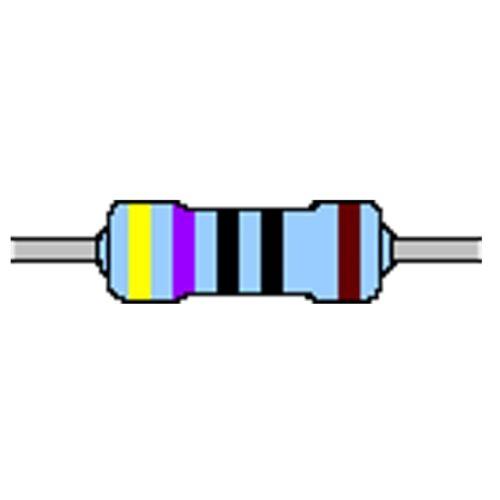 Capa de metal-resistencia 470 Ohm 1/% 0,4w forma compacta 0204 utilizarse sin cinturón